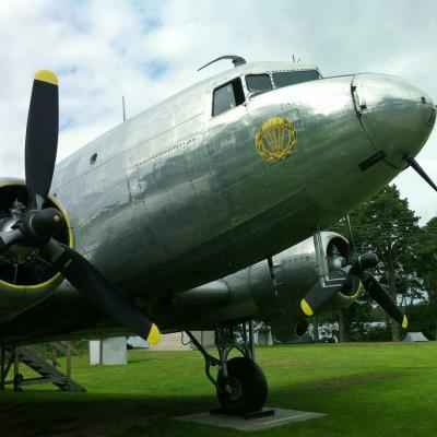 Fallskärmsjägarnas Dag 2013 - DC-3 i lägret